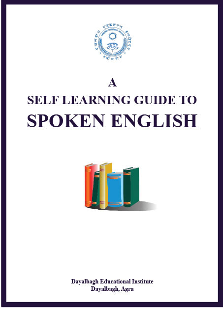 A Self Learning Guide To Spoken English